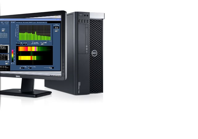 Dell Workstation with monitor