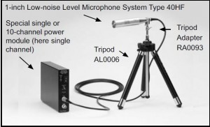 Low Noise Mic System Diagram